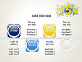 Five Years Celebration PowerPoint Template#18