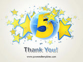 Five Years Celebration PowerPoint Template#20
