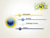 Five Years Celebration PowerPoint Template#3