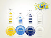 Five Years Celebration PowerPoint Template#7