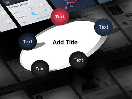 Smartphone Interface Design PowerPoint Template Slide 14