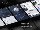 Careers/Industry: スマートフォンインターフェイスの設計 - PowerPointテンプレート #12070