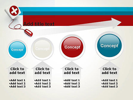 Donate Online PowerPoint Template Slide 13