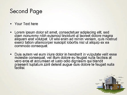 Concept Architecture PowerPoint Template Slide 2