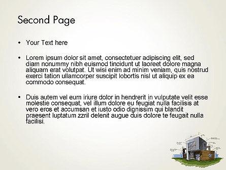 Concept Architecture PowerPoint Template, Slide 2, 12072, Construction — PoweredTemplate.com