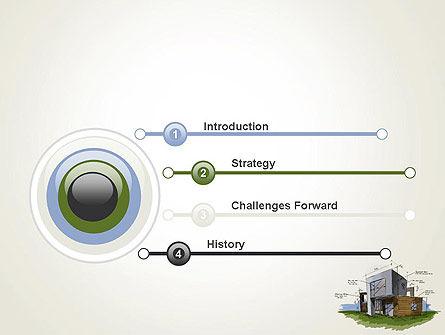 Concept Architecture PowerPoint Template, Slide 3, 12072, Construction — PoweredTemplate.com