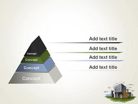 Concept Architecture PowerPoint Template, Slide 4, 12072, Construction — PoweredTemplate.com