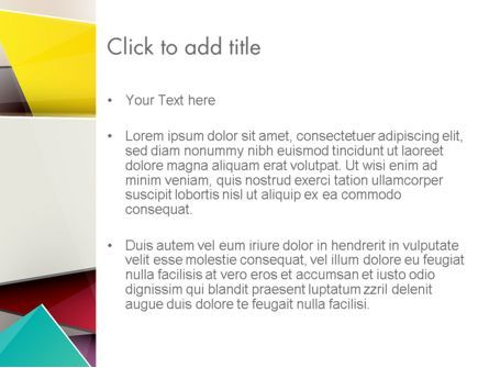 Cubist PowerPoint Template, Slide 3, 12078, Abstract/Textures — PoweredTemplate.com