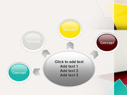 Cubist PowerPoint Template Slide 7