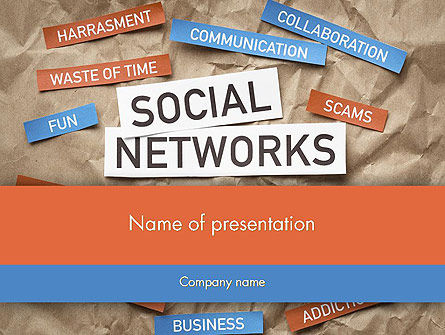 Crafting a Social Media PowerPoint Template, 12079, Careers/Industry — PoweredTemplate.com