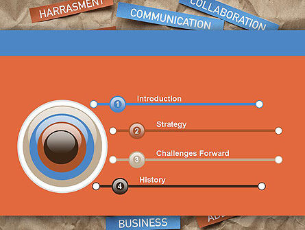 Crafting a Social Media PowerPoint Template, Slide 3, 12079, Careers/Industry — PoweredTemplate.com