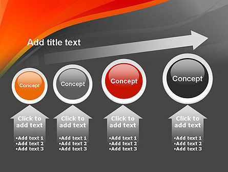 Red and Gray PowerPoint Template Slide 13