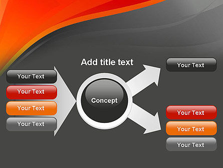 Red and Gray PowerPoint Template Slide 14