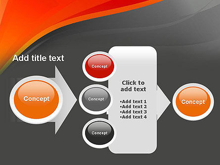 Red and Gray PowerPoint Template Slide 17