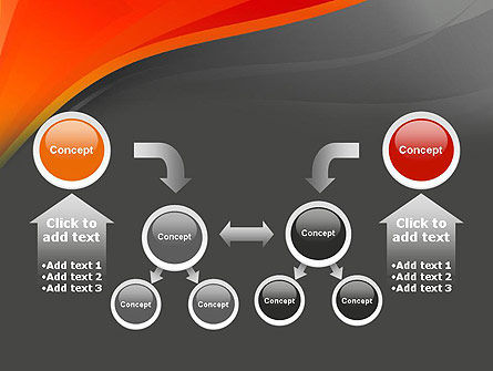 Red and Gray PowerPoint Template Slide 19