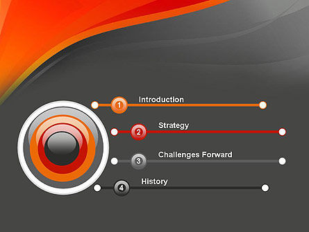 Red and Gray PowerPoint Template Slide 3