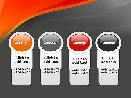 Red and Gray PowerPoint Template Slide 5