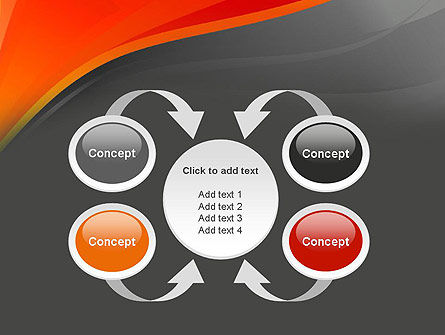 Red and Gray PowerPoint Template Slide 6