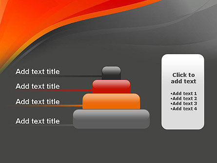 Red and Gray PowerPoint Template Slide 8