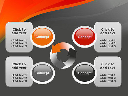 Red and Gray PowerPoint Template Slide 9