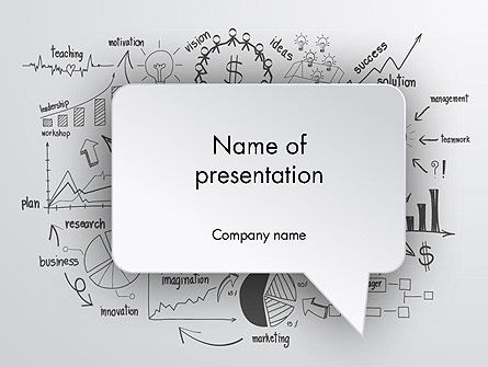 Business Plan Theme PowerPoint Template, 12085, Consulting — PoweredTemplate.com