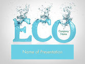 Nature & Environment: Water Ecology PowerPoint Template #12086
