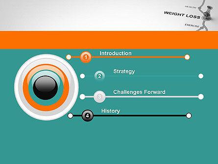 Weight Loss Basics PowerPoint Template, Slide 3, 12087, Health and Recreation — PoweredTemplate.com