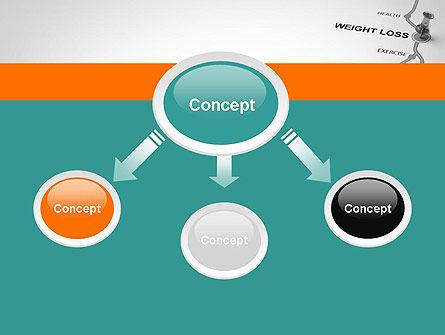 Weight Loss Basics PowerPoint Template, Slide 4, 12087, Health and Recreation — PoweredTemplate.com