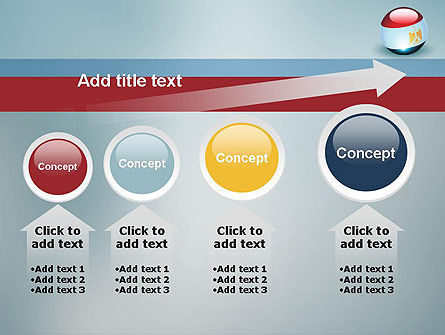 Ball With Flag Of Egypt PowerPoint Template Slide 13