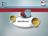 Ball With Flag Of Egypt PowerPoint Template#16