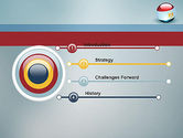 Ball With Flag Of Egypt PowerPoint Template#3