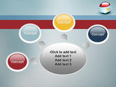 Ball With Flag Of Egypt PowerPoint Template#7