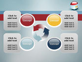 Ball With Flag Of Egypt PowerPoint Template#9