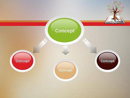 Fairytale Tree PowerPoint Template, Slide 4, 12090, Education & Training — PoweredTemplate.com