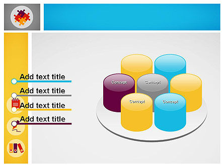 Presentation with Flat Icons PowerPoint Template Slide 12