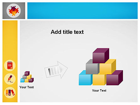 Presentation with Flat Icons PowerPoint Template Slide 13