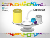 Colorful Squares PowerPoint Template#10