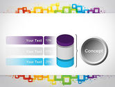 Colorful Squares PowerPoint Template#11