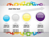 Colorful Squares PowerPoint Template#13