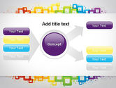 Colorful Squares PowerPoint Template#14