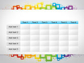 Colorful Squares PowerPoint Template#15