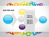 Colorful Squares PowerPoint Template#17