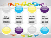Colorful Squares PowerPoint Template#18