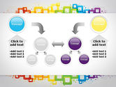 Colorful Squares PowerPoint Template#19