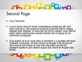 Colorful Squares PowerPoint Template#2