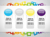 Colorful Squares PowerPoint Template#5