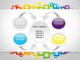 Colorful Squares PowerPoint Template#6