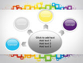 Colorful Squares PowerPoint Template#7