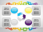 Colorful Squares PowerPoint Template#9
