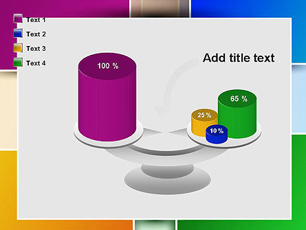 Colored Rectangles PowerPoint Template Slide 10